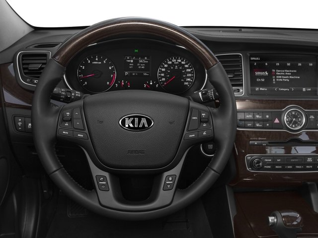 2015 Kia Cadenza Pictures Cadenza Sedan 4D Limited V6 photos driver's dashboard