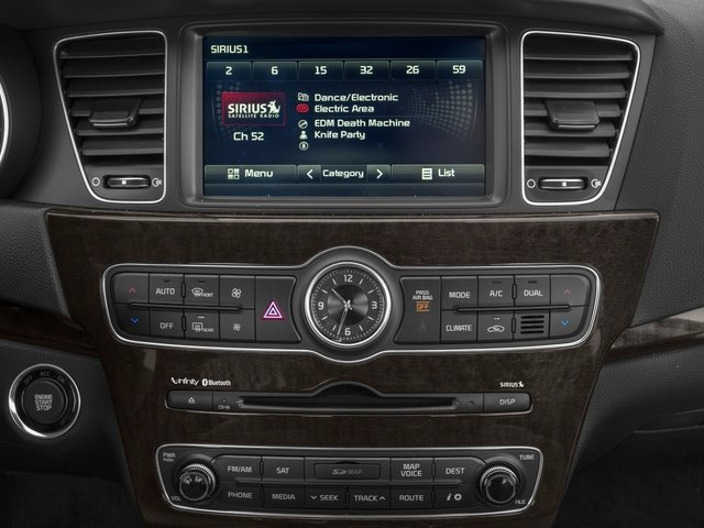 2015 Kia Cadenza Pictures Cadenza Sedan 4D Limited V6 photos stereo system