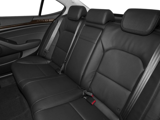 2015 Kia Cadenza Pictures Cadenza Sedan 4D Premium V6 photos backseat interior