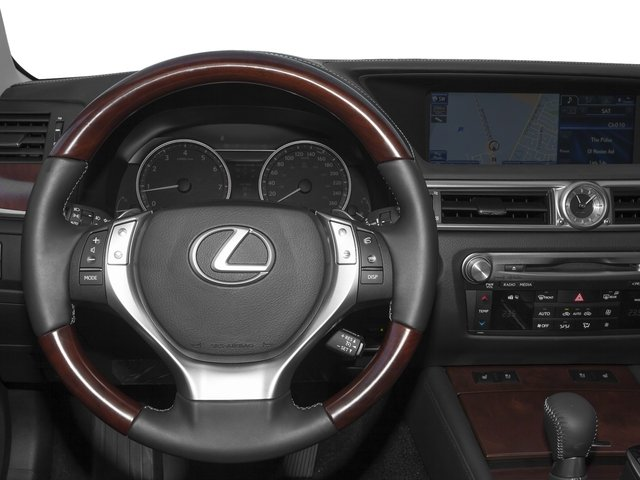 2015 Lexus GS 350 Prices and Values Sedan 4D GS350 AWD V6 driver's dashboard