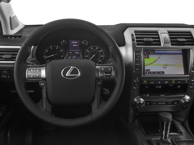 2015 Lexus GX 460 Prices and Values Utility 4D Luxury 4WD V8 driver's dashboard