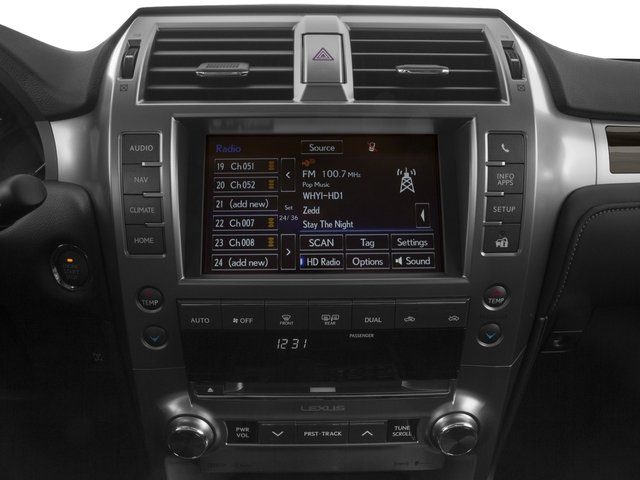2015 Lexus GX 460 Prices and Values Utility 4D Luxury 4WD V8 stereo system