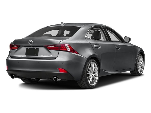 2015 Lexus IS 250 Pictures IS 250 Sedan 4D IS250 V6 photos side rear view