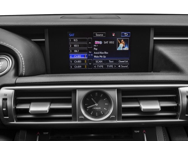 2015 Lexus IS 250 Pictures IS 250 Sedan 4D IS250 V6 photos stereo system
