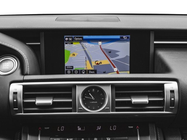 2015 Lexus IS 250 Pictures IS 250 Sedan 4D IS250 V6 photos navigation system