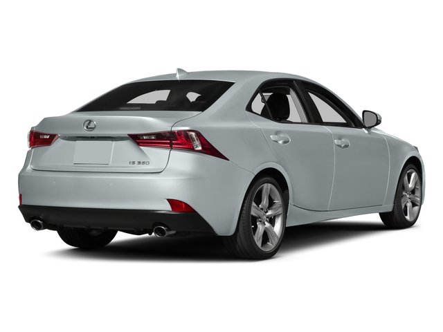 2015 Lexus IS 350 Pictures IS 350 Sedan 4D IS350 V6 photos side rear view