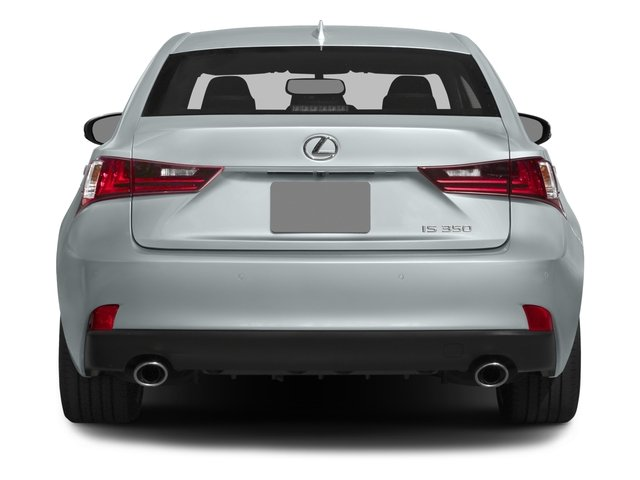 2015 Lexus IS 350 Pictures IS 350 Sedan 4D IS350 V6 photos rear view