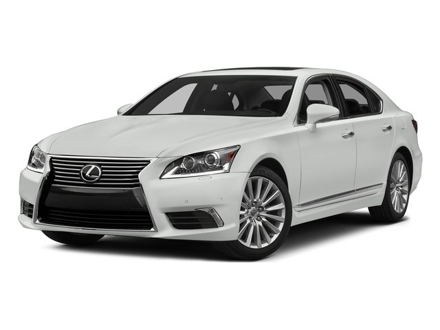 2015 Lexus LS 460 Prices and Values Sedan 4D LS460 AWD V8 side front view