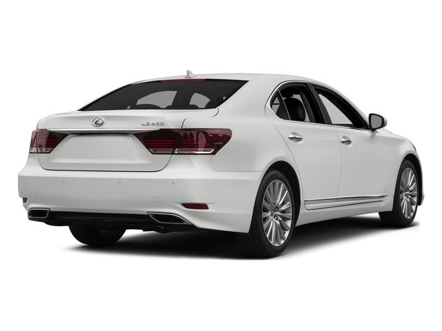 2015 Lexus LS 460 Prices and Values Sedan 4D LS460 AWD V8 side rear view