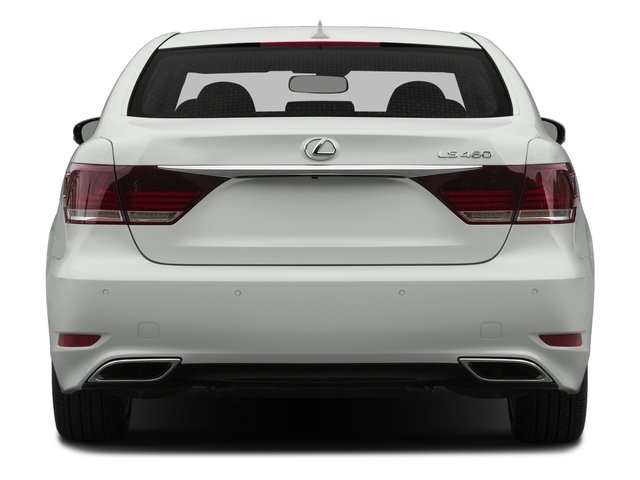 2015 Lexus LS 460 Prices and Values Sedan 4D LS460 AWD V8 rear view