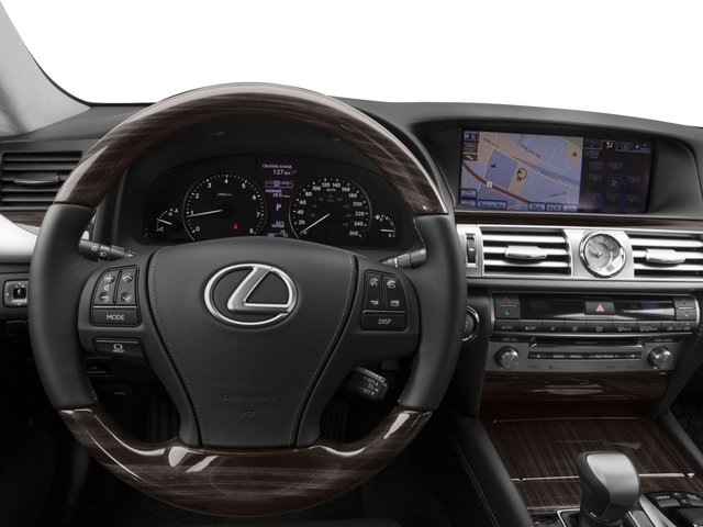 2015 Lexus LS 460 Prices and Values Sedan 4D LS460 AWD V8 driver's dashboard