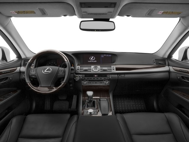 2015 Lexus LS 460 Prices and Values Sedan 4D LS460 AWD V8 full dashboard
