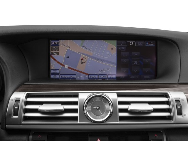 2015 Lexus LS 460 Pictures LS 460 Sedan 4D LS460 V8 photos navigation system