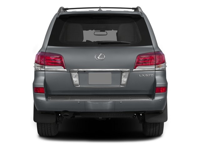 2015 Lexus LX 570 Prices and Values Utility 4D 4WD V8 rear view