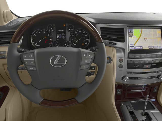 2015 Lexus LX 570 Prices and Values Utility 4D 4WD V8 driver's dashboard