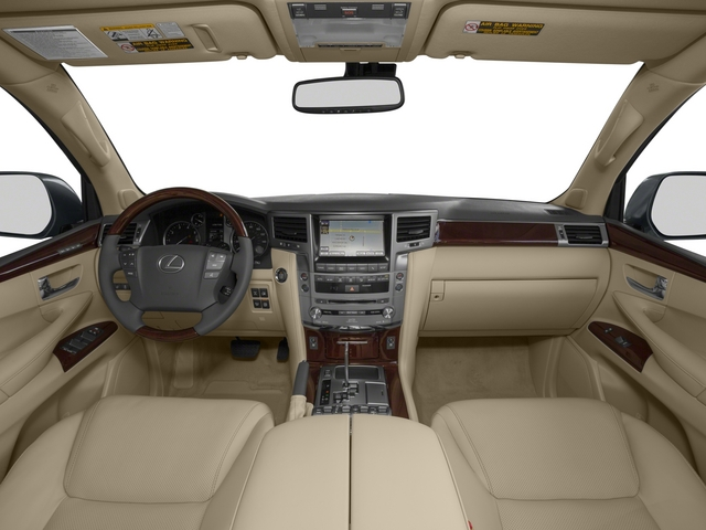 2015 Lexus LX 570 Prices and Values Utility 4D 4WD V8 full dashboard
