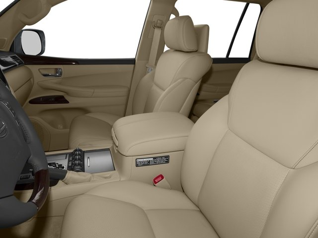 2015 Lexus LX 570 Prices and Values Utility 4D 4WD V8 front seat interior