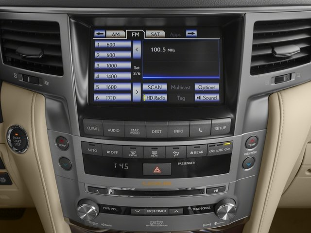 2015 Lexus LX 570 Prices and Values Utility 4D 4WD V8 stereo system