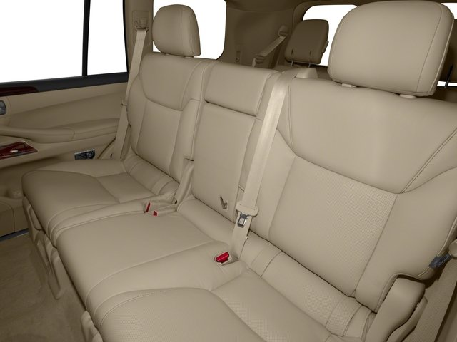2015 Lexus LX 570 Prices and Values Utility 4D 4WD V8 backseat interior
