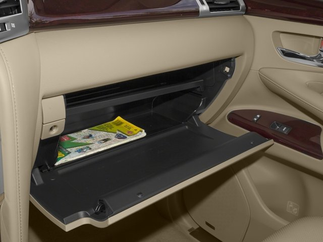 2015 Lexus LX 570 Prices and Values Utility 4D 4WD V8 glove box