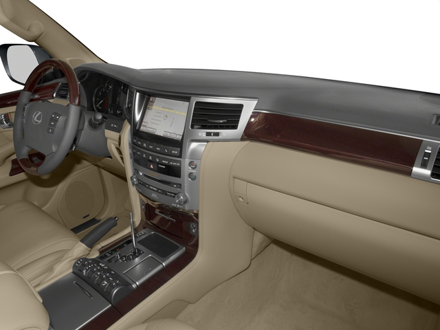 2015 Lexus LX 570 Prices and Values Utility 4D 4WD V8 passenger's dashboard