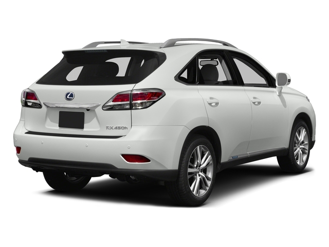 2015 Lexus RX 450h Prices and Values Utility 4D AWD V6 Hybrid side rear view