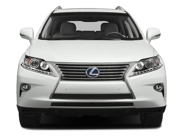 2015 Lexus RX 450h Prices and Values Utility 4D AWD V6 Hybrid front view