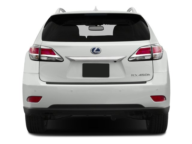 2015 Lexus RX 450h Prices and Values Utility 4D AWD V6 Hybrid rear view
