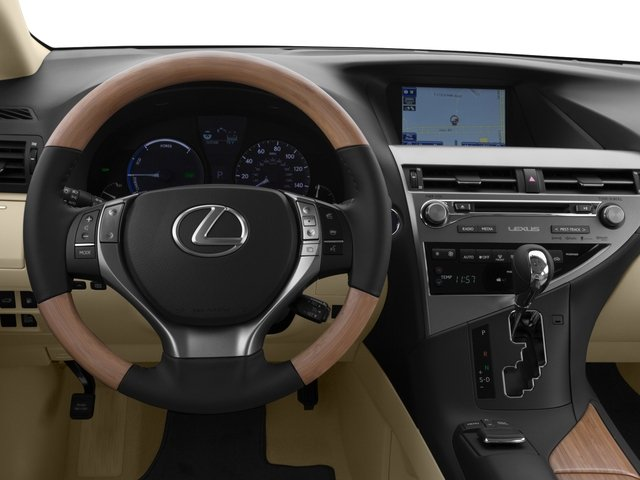 2015 Lexus RX 450h Prices and Values Utility 4D AWD V6 Hybrid driver's dashboard