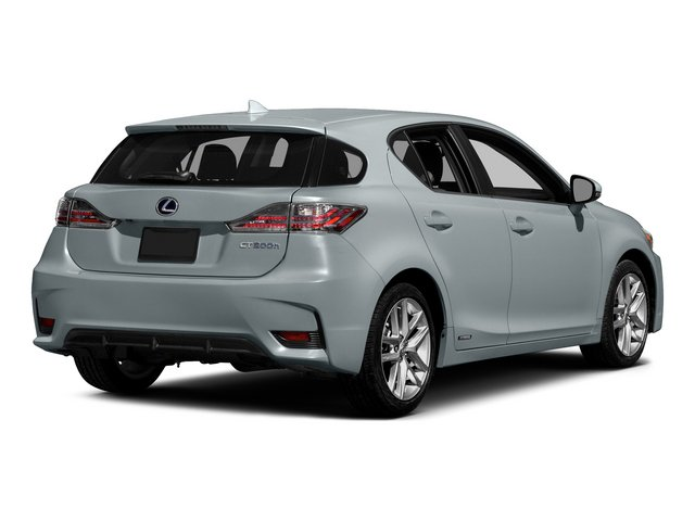 2015 Lexus CT 200h Prices and Values Hatchback 5D CT200h I4 Hybrid side rear view