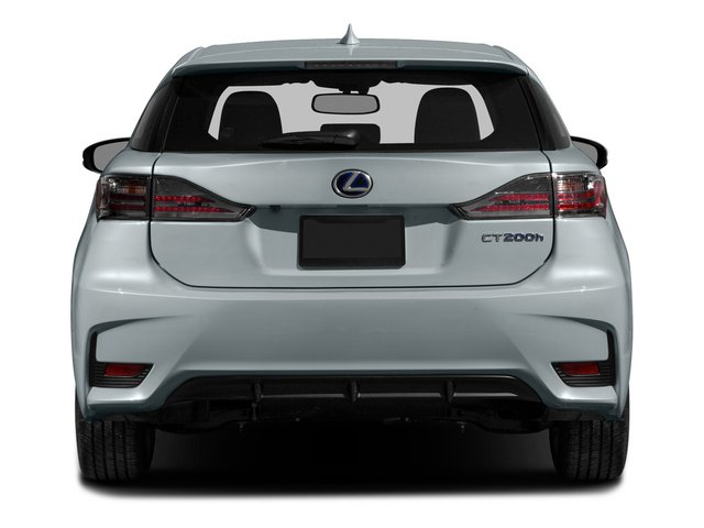 2015 Lexus CT 200h Prices and Values Hatchback 5D CT200h I4 Hybrid rear view