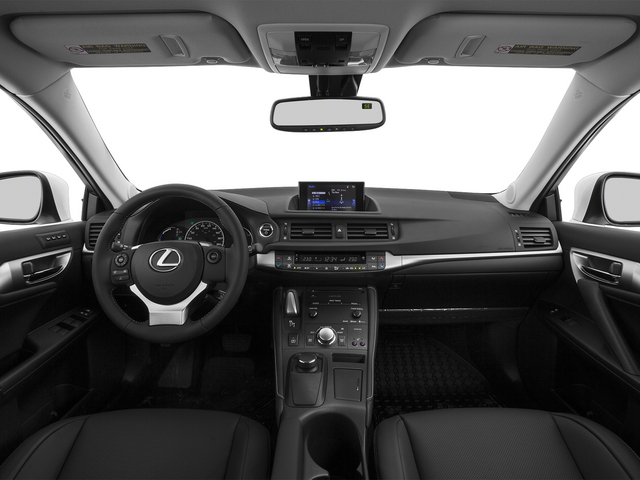 2015 Lexus CT 200h Prices and Values Hatchback 5D CT200h I4 Hybrid full dashboard