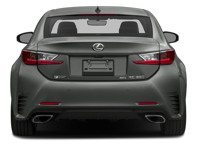 2015 Lexus RC 350 Prices and Values Coupe 2D RC350 V6 rear view