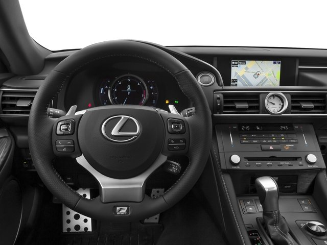 2015 Lexus RC 350 Prices and Values Coupe 2D RC350 V6 driver's dashboard