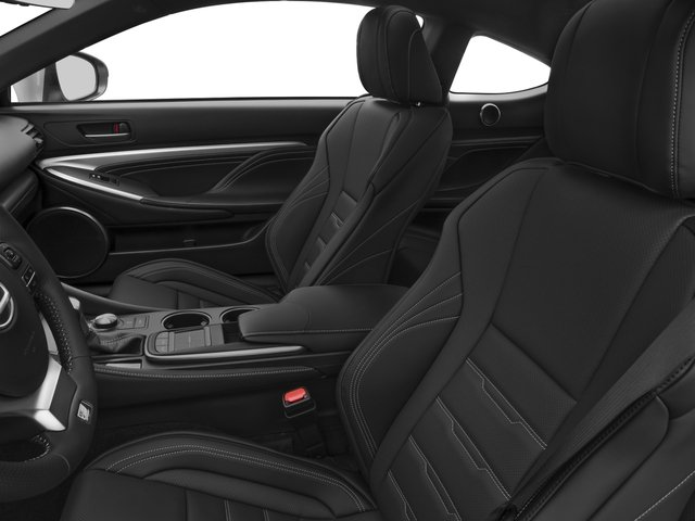 2015 Lexus RC 350 Prices and Values Coupe 2D RC350 V6 front seat interior