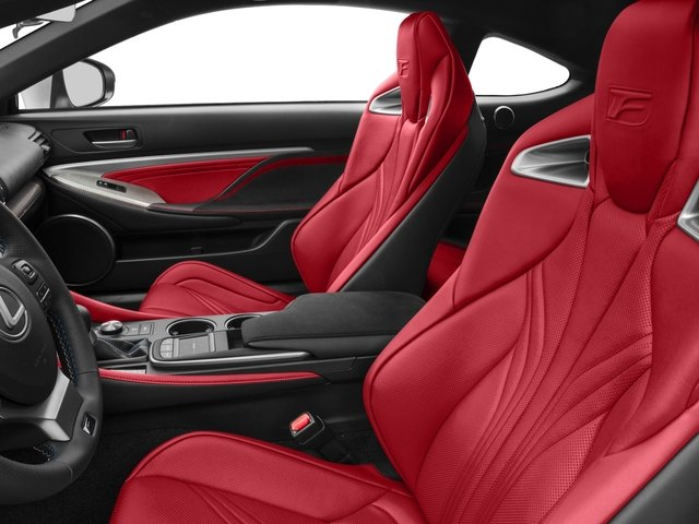 2015 Lexus RC F Pictures RC F Coupe 2D RC-F V8 photos front seat interior
