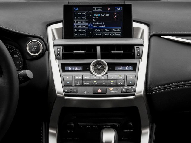 2015 Lexus NX 200t Prices and Values Utility 4D NX200t AWD I4 Turbo stereo system