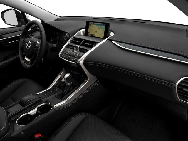 2015 Lexus NX 200t Prices and Values Utility 4D NX200t AWD I4 Turbo passenger's dashboard