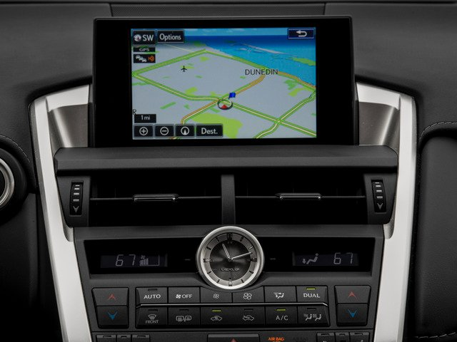 2015 Lexus NX 200t Prices and Values Utility 4D NX200t AWD I4 Turbo navigation system