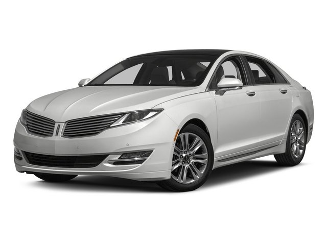 2015 Lincoln MKZ Pictures MKZ Sedan 4D Black Label AWD V6 photos side front view