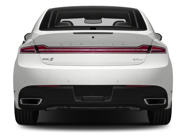 2015 Lincoln MKZ Prices and Values Sedan 4D AWD V6 rear view
