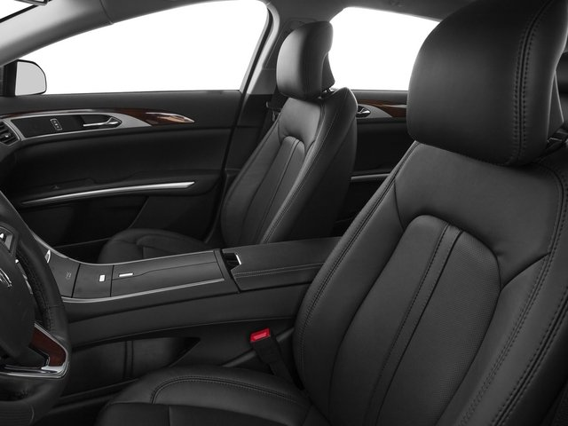 2015 Lincoln MKZ Prices and Values Sedan 4D AWD V6 front seat interior