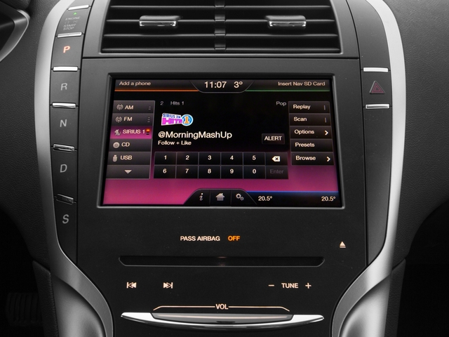 2015 Lincoln MKZ Prices and Values Sedan 4D AWD V6 stereo system