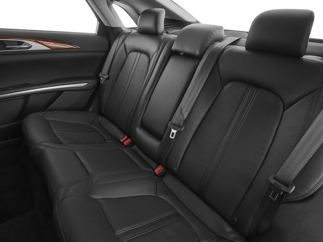 2015 Lincoln MKZ Prices and Values Sedan 4D AWD V6 backseat interior