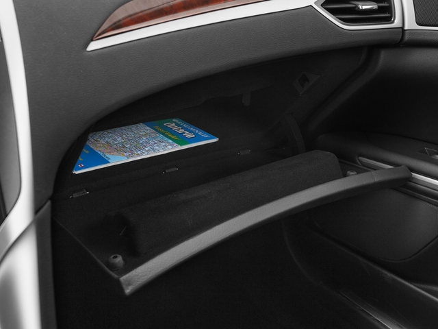 2015 Lincoln MKZ Prices and Values Sedan 4D AWD V6 glove box