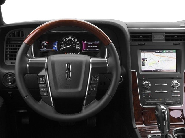 2015 Lincoln Navigator Pictures Navigator Utility 4D Select 2WD V6 Turbo photos driver's dashboard