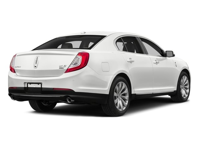 2015 Lincoln MKS Prices and Values Sedan 4D V6 side rear view