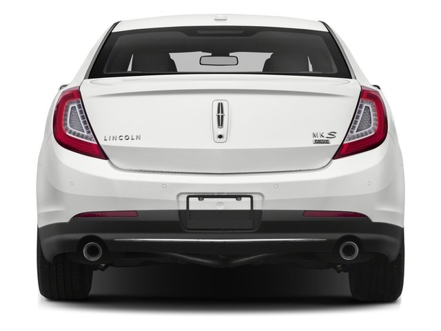 2015 Lincoln MKS Prices and Values Sedan 4D V6 rear view