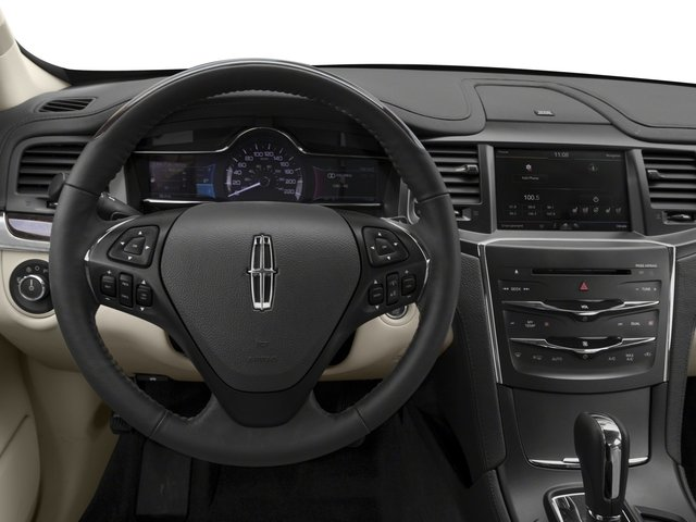 2015 Lincoln MKS Prices and Values Sedan 4D V6 driver's dashboard