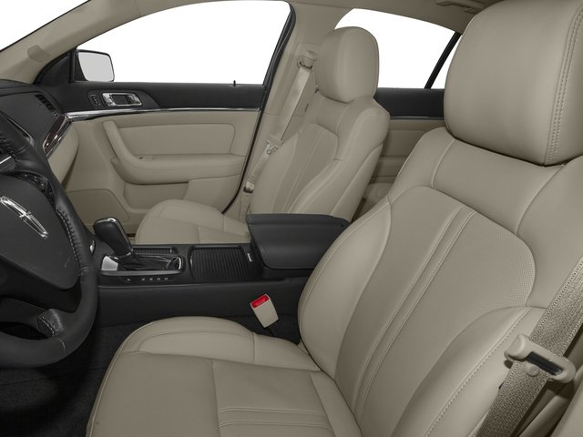 2015 Lincoln MKS Prices and Values Sedan 4D V6 front seat interior
